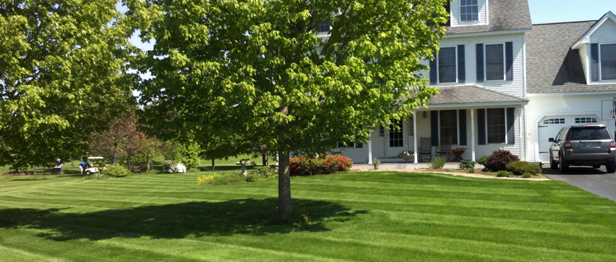Custom landscaping services in NH